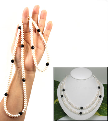 6405041-Onyx-Roundel-White-Freshwater-Cultured-Pearls-Endless-Necklace