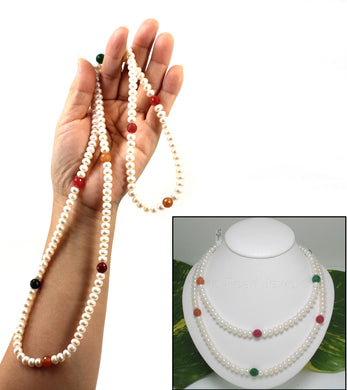 6405042-Multicolor-Quartz-Roundel-White-Freshwater-Pearl-Endless-Necklace
