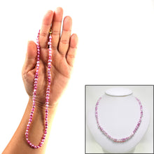 Load image into Gallery viewer, 643421G26-Rose-Colored-Small-Baroque-Pearl-Simple-Style-Necklace