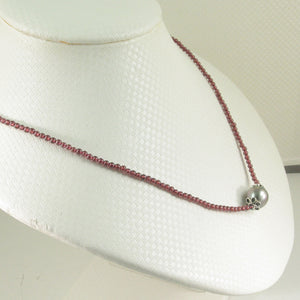 6T0534S33-Garnet-Silver-925-Bali-Beads-Black-Tahitian-Pearl-Necklaces