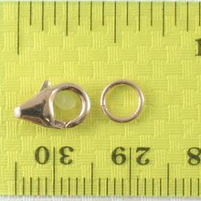 Load image into Gallery viewer, 800016-14k-Yellow-Solid-Gold-Lobster-Claw-Trigger-Close-Ring-Clasp