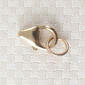 800016-14k-Yellow-Solid-Gold-Lobster-Claw-Trigger-Close-Ring-Clasp
