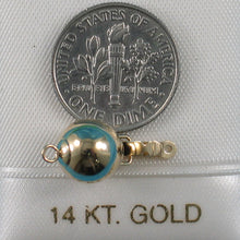 Load image into Gallery viewer, 14k Yellow Gold High polished 9mm Ball Pearl Bead Clasp