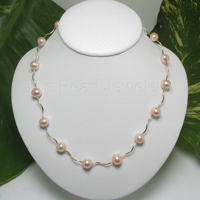 8500142-14k-Yellow-Gold-Spiral-Tube-Natural-Pink-Pearls-Necklace
