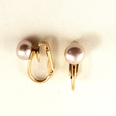 9100012-14k-Yellow-Gold-Filled-Non-Pierced-Clip-On-Pink-Cultured-Pearl-Earrings