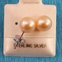 Load image into Gallery viewer, Freshwater Cultured Pearl Stud Earrings in Sterling Silver