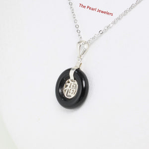 9210221-Solid-Sterling-Silver-Good-Fortunes-Black-Onyx-Pendants