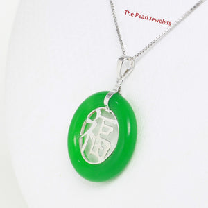 9210243-Sterling-Silver-Good-Fortunes-Green-Jade-Oriental-Pendant-Necklace