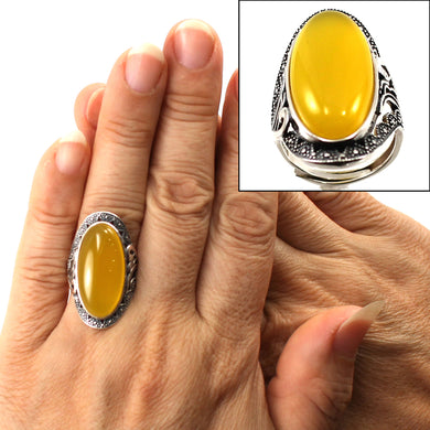 9310754-Solitaire-Ring-Adjustable-Size-Sterling-Silver-Honey-Agate