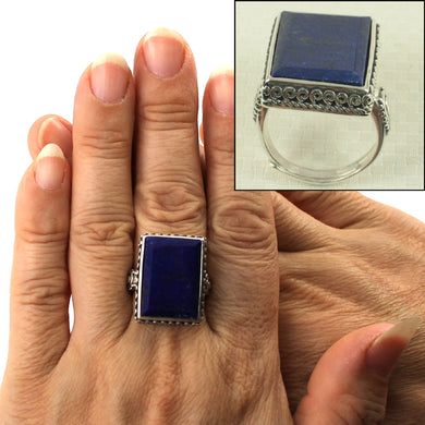 9320053-Solid-Sterling-Silver-Natural-Blue-Lapis-Lazuli-Solitaire-Ring