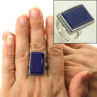 9320055-Solid-Sterling-Silver-Natural-Blue-Lapis-Lazuli-Solitaire-Ring