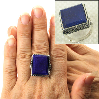9320056-Solid-Sterling-Silver-Natural-Blue-Lapis-Lazuli-Solitaire-Ring