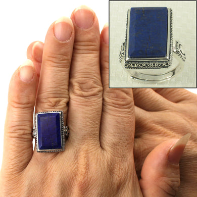 9320060-Solid-Sterling-Silver-Natural-Blue-Lapis-Lazuli-Solitaire-Ring