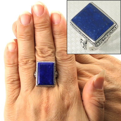 9320062-Solid-Sterling-Silver-Natural-Blue-Lapis-Lazuli-Solitaire-Ring