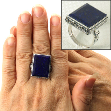 9320063-Solid-Sterling-Silver-Natural-Blue-Lapis-Lazuli-Solitaire-Ring