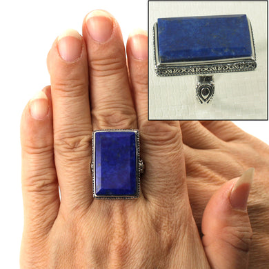 9320064-Solid-Sterling-Silver-Natural-Blue-Lapis-Lazuli-Solitaire-Ring