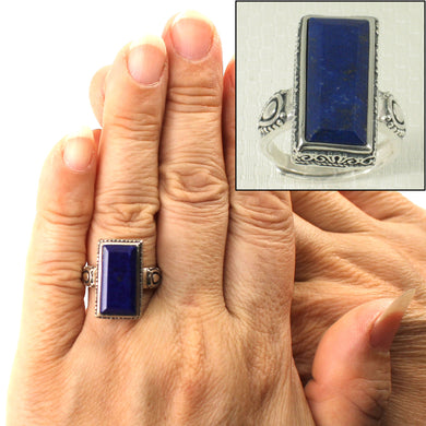9320065-Solid-Sterling-Silver-Natural-Blue-Lapis-Lazuli-Solitaire-Ring