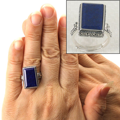 9320066-Solid-Sterling-Silver-Natural-Blue-Lapis-Lazuli-Solitaire-Ring