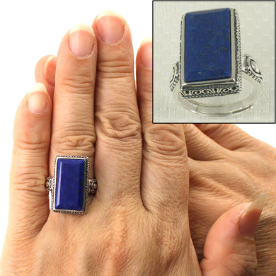 9320067-Solid-Sterling-Silver-Natural-Blue-Lapis-Lazuli-Solitaire-Ring