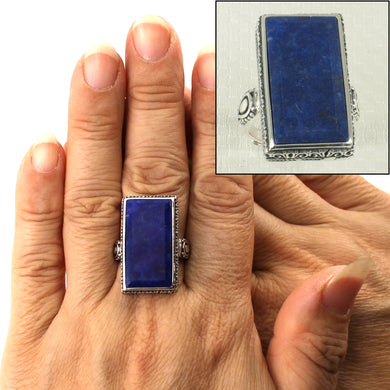 9320070-Solid-Sterling-Silver-Genuine-Blue-Lapis-Lazuli-Solitaire-Ring