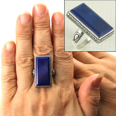 9320071-Genuine-Blue-Lapis-Lazuli-Solid-Sterling-Silver-Solitaire-Ring