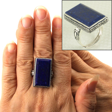 9320072-Genuine-Blue-Lapis-Lazuli-Solitaire-Ring-Solid-Sterling-Silver