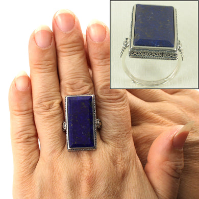 9320073-Genuine-Blue-Lapis-Lazuli-Solitaire-Ring-Solid-Sterling-Silver