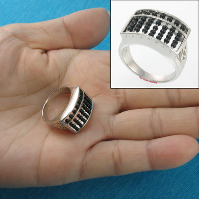 9338881-Genuine-Black-Onyx-Abacus-Designed-Solid-Sterling-Silver-Ring