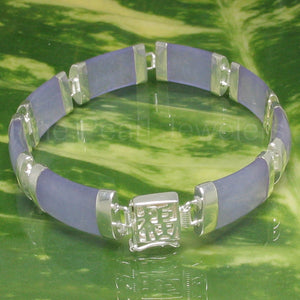 9410132-Sterling-Silver-Featuring-Eight-Curved-Lavender-Jade-Bracelet