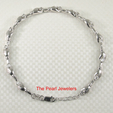 9420010-Solid-Sterling-Silver-13-Hand-Segments-Cubic-Zirconia-Bracelets