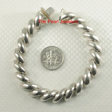9430012-Sterling-Silver-Solid-Braided-Saddle-Design-Bracelet