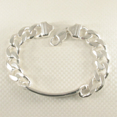 9430027-Personalized-Italian-Sterling-Silver-ID-Link-Heavy-Bracelet-Lobster-Claw