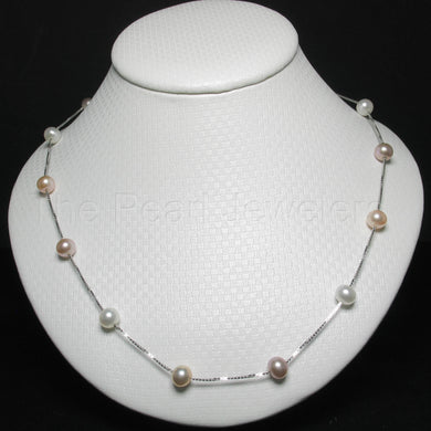 9601094-Hand-Crafted-Pink-White-Cultured-Pearl-Tin-Cup-Necklace