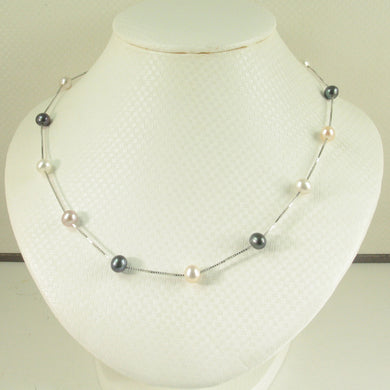 9601096-Hand-Crafted-Pink-Black-White-Pearl-Tin-Cup-Necklace