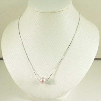 9603092L-Lavender-Cultured-Pearl-Box-Chain-Very-Simple-Beautiful-Necklace