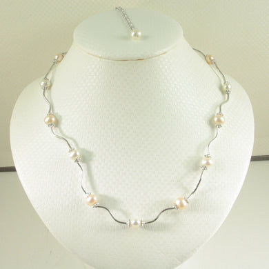 9609973-Hand-Crafted-Genuine-Pink-White-Culture-Pearls-Necklace