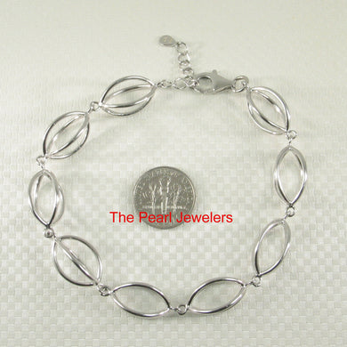 F940994-Elegant-Beautiful-Solid-Sterling-Silver-Lucky-Lantern-Bracelet