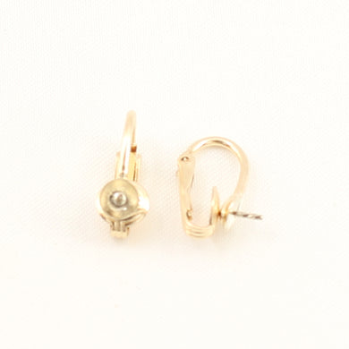 PS004-14k-Yellow-Gold-Filled-Non-Pierced-Clip-Earring-Finding-DIY