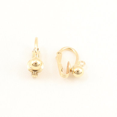 PS014-14k-Gold-Filled-Non-Pierced-Clip-for-Dangling-Earring-Finding-DIY