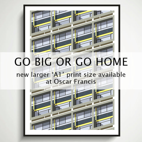 GO BIG OR GO HOME - The new 'A1' larger print size is here! | oscar