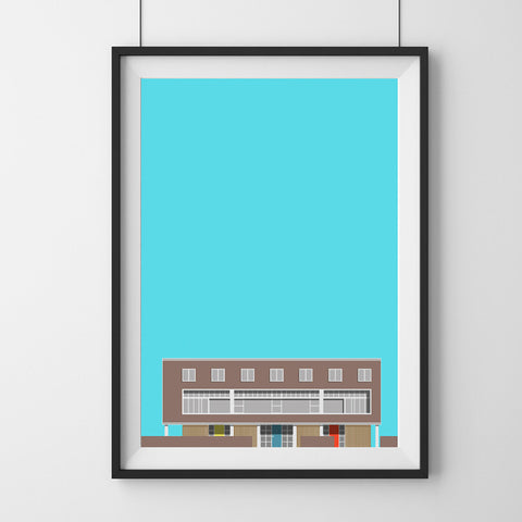 1-3 Willow Road Art Print