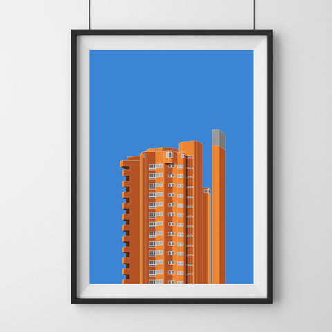 Worlds End Estate (01) Art Print