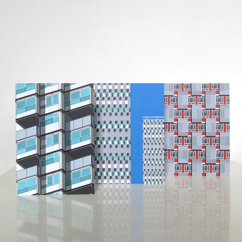 Modern House London 03 - Pack of 3 Cards