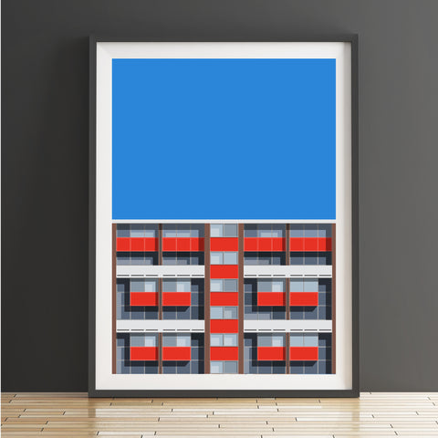 A2 Limited Edition_Basterfield House Art Print   -   (20 only - 3 remaining)