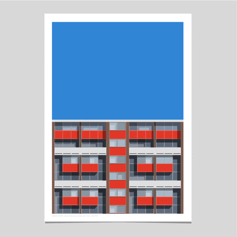A2 Limited Edition_Basterfield House Art Print   -   (20 only - 2 remaining)