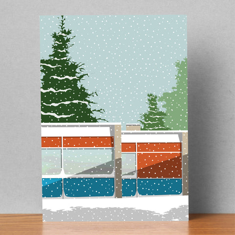 Søholm lll in the Snow - Christmas Card (Pack of 4) 9 left!