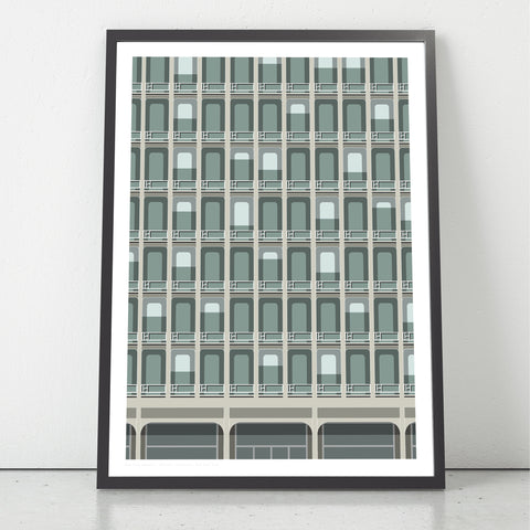 330 East 33rd Street, NYC Art Print