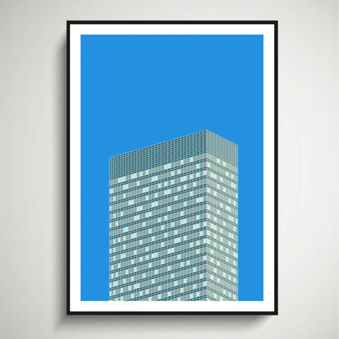 390 Park Avenue, NYC Art Print