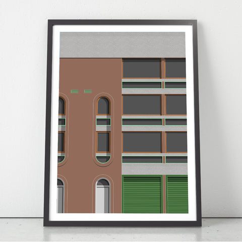 A2 Limited Edition_Wallside, Barbican Art Print   -   (30 only)