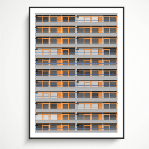 A2 Limited Edition_Speed House, Barbican Art Print   -   (30 only)